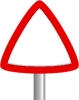 blank_triangle_sign_post_page