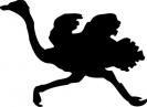 ostrich_silhouette