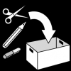 knutselmateriaal opruimen