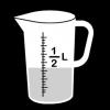 maatbeker halve liter 2