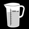 maatbeker liter 2