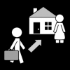 mama huis gaan