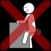 masturbatie rijden kruis rood