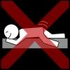 masturbatie rijden liggend kruis rood