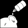 medicatie druppels oor