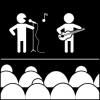 muziek optreden
