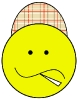 country_smiley_plaid_cap