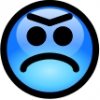 glossy_smiley_blue_angry