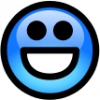 glossy_smiley_blue_smile
