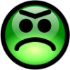 glossy_smiley_green_angry