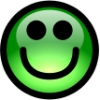 glossy_smiley_green_grin