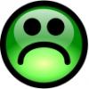 glossy_smiley_green_sad