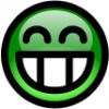 glossy_smiley_green_toothy_smile