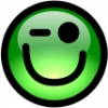 glossy_smiley_green_wink