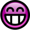 glossy_smiley_pink_toothy_smile