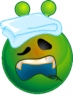smiley_green_alien_sick