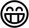 smiley_outline_toothy_smile