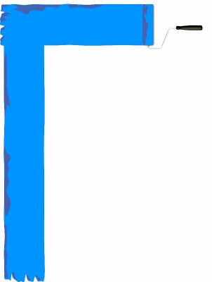 paint_roller_page_border_blue