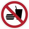 Eten en drinken verboden